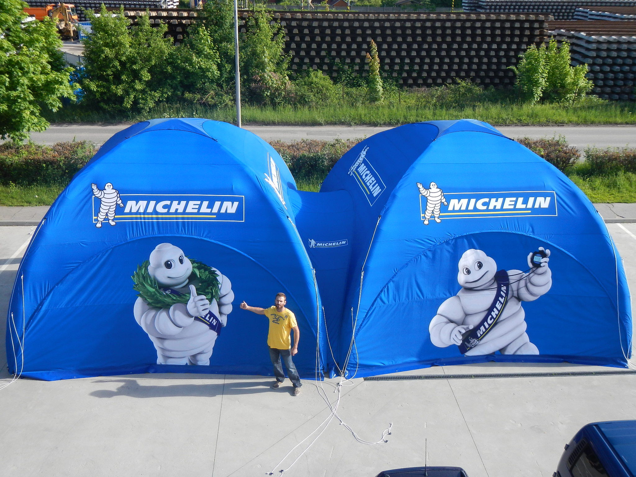 Carpa X Tente 6×6 Michelin