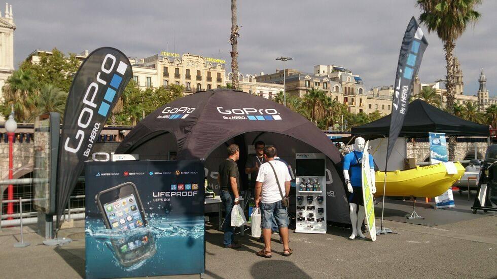 Carpa X-Tent 4×4 GoPro