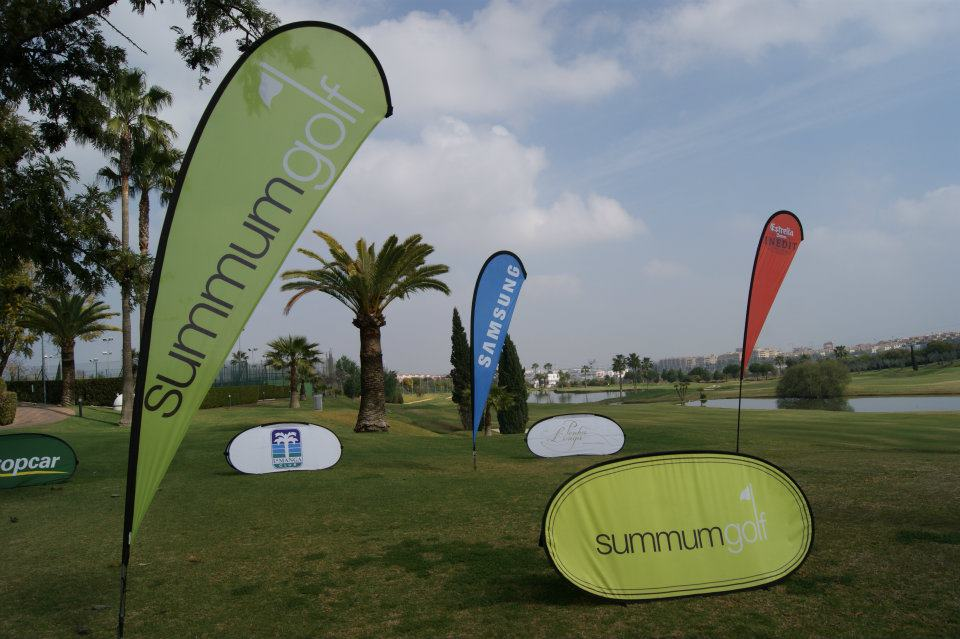 Fly Banner Drop L Summum Golf