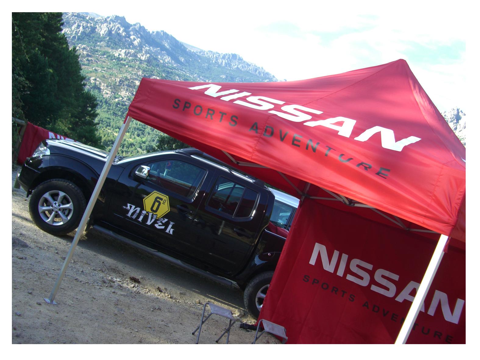 Carpa Lite Pro 3×3 Nissan