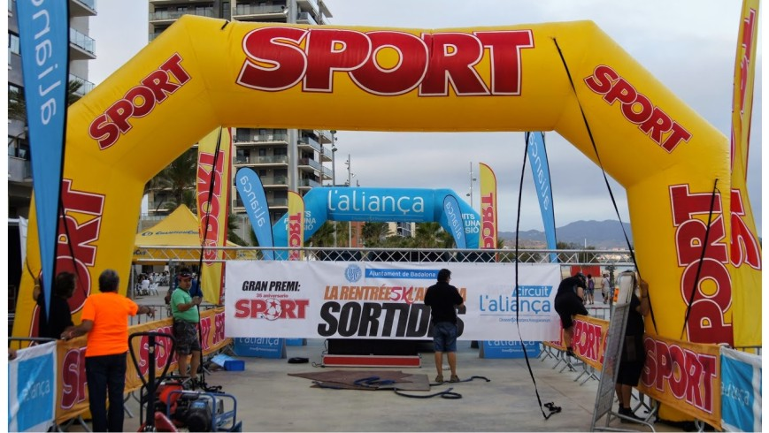Arco De Meta Hinchable Sport
