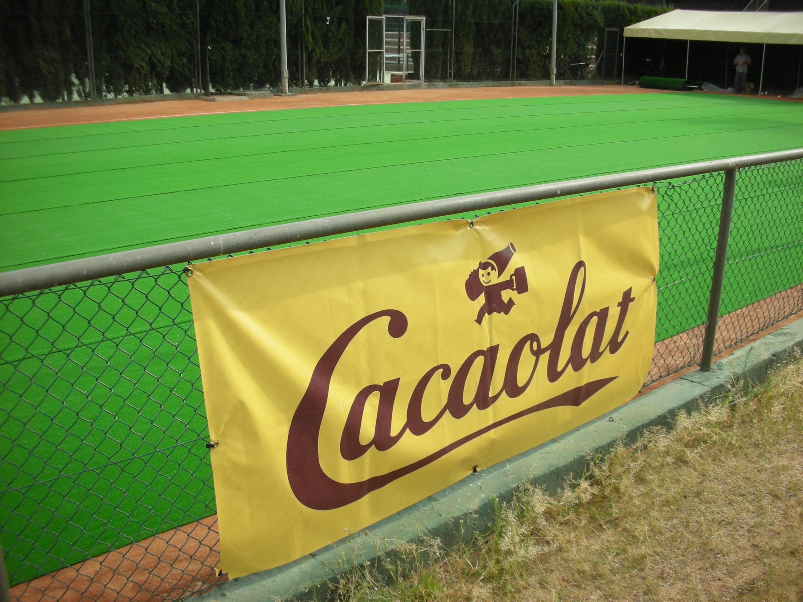 Pancarta PVC Cacaolat