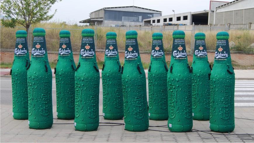 Botella Hinchable Calsberg