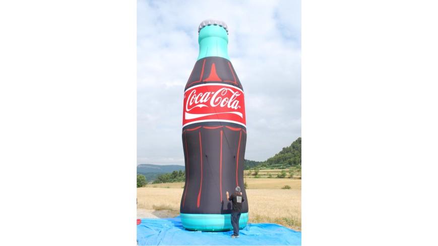 Botella Hinchable Coca-Cola10m