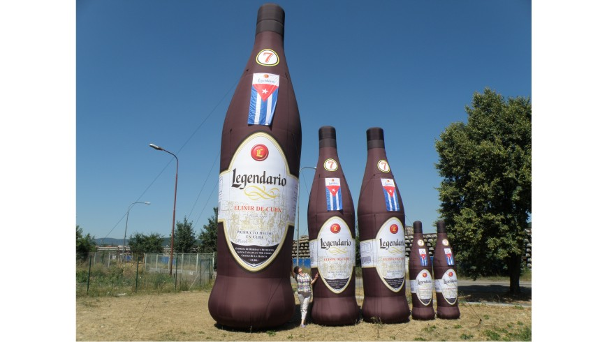 Botella Hinchable Legendario
