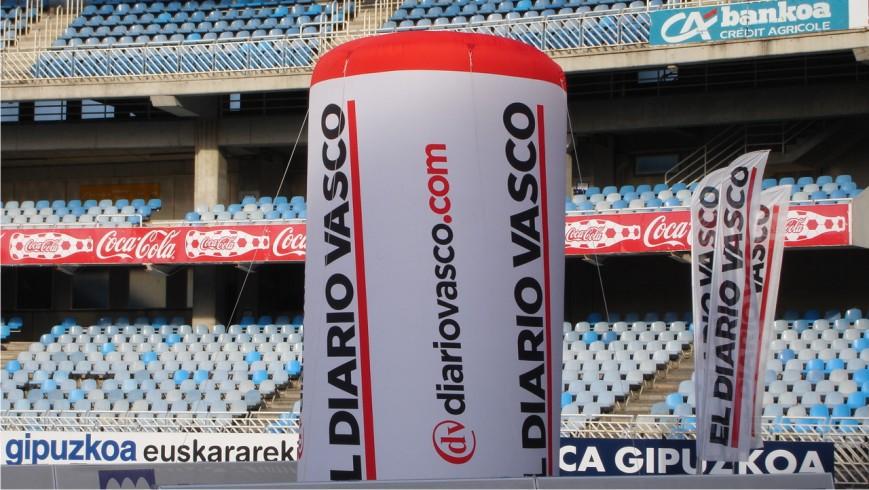 Columna Hinchable Diario Vasco
