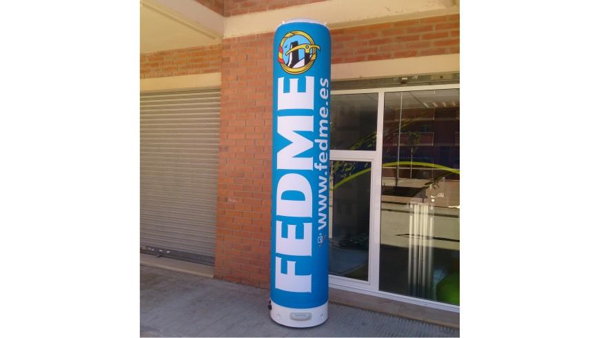 Columna Hinchable FEDME