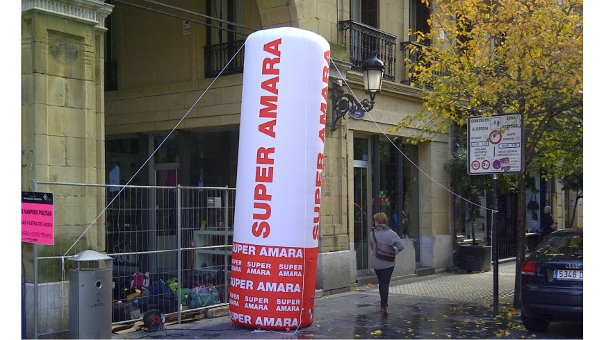 Columna Hinchable Super Amara