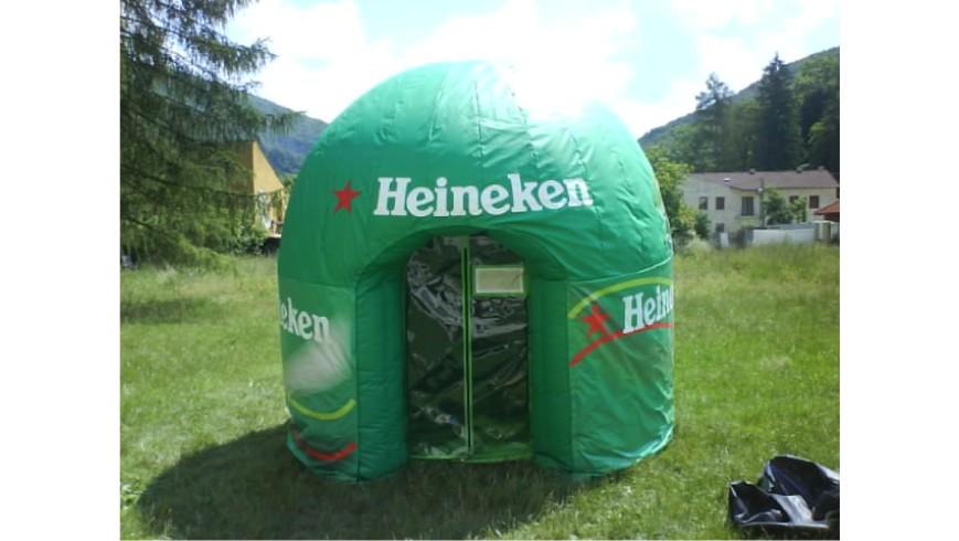 Estructura Hinchable Heineken
