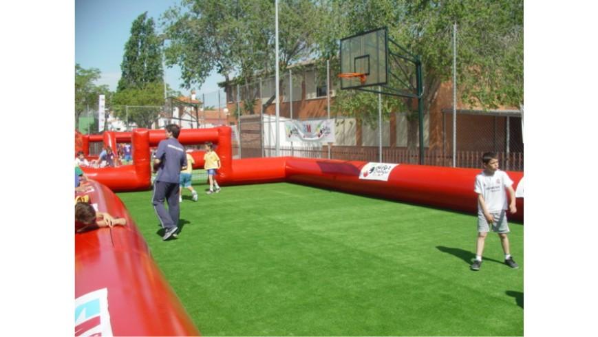 Hinchable Deportivo Campo