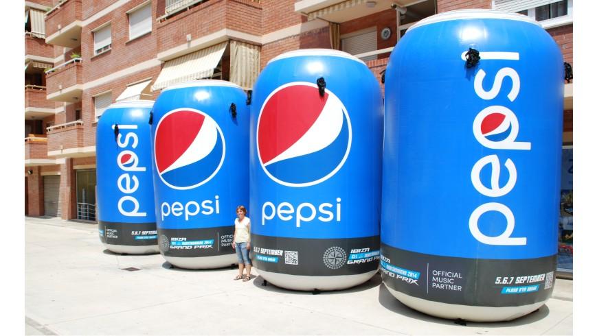 Lata Hinchable Pepsi