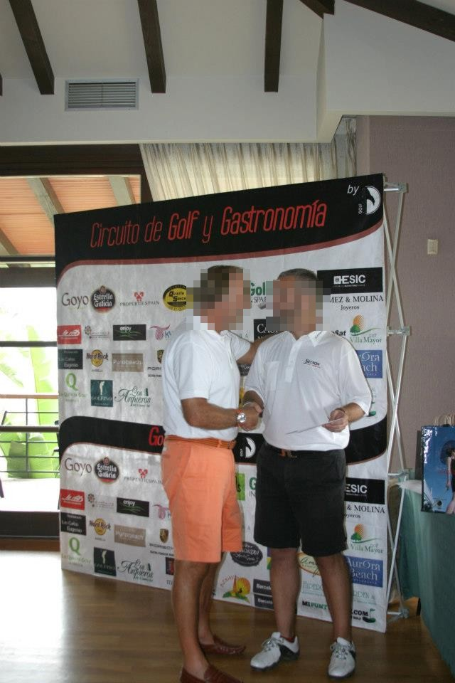 Display Photocall Golf Y Gastronomia