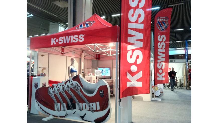 Wing Banner K-swiss