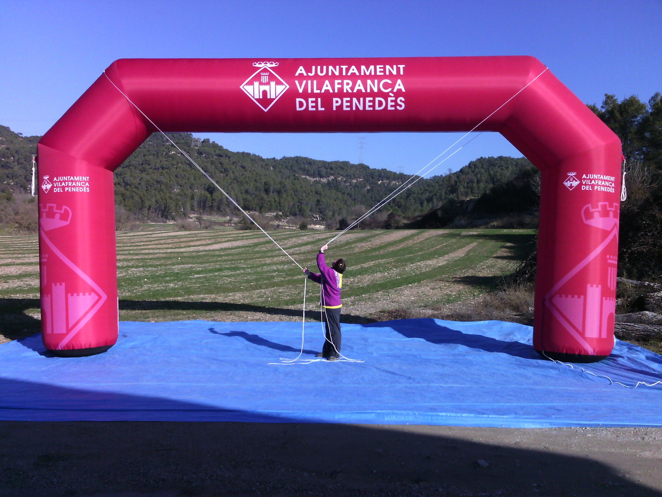 Arco De Meta Hinchable AM2 Vilafranca Del Penedes  1