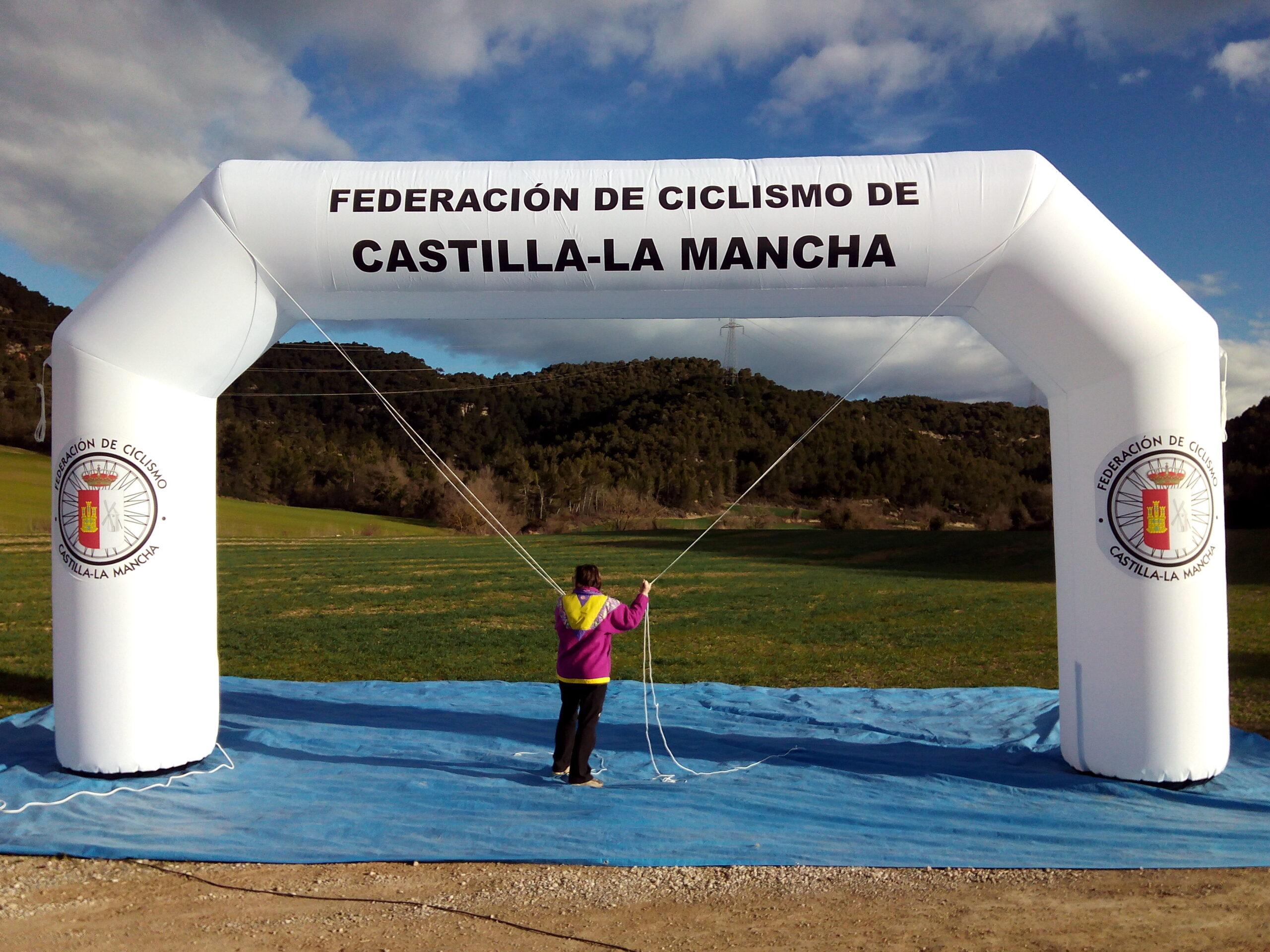 Arco De Meta Hinchable AM2 Federacion Ciclismo