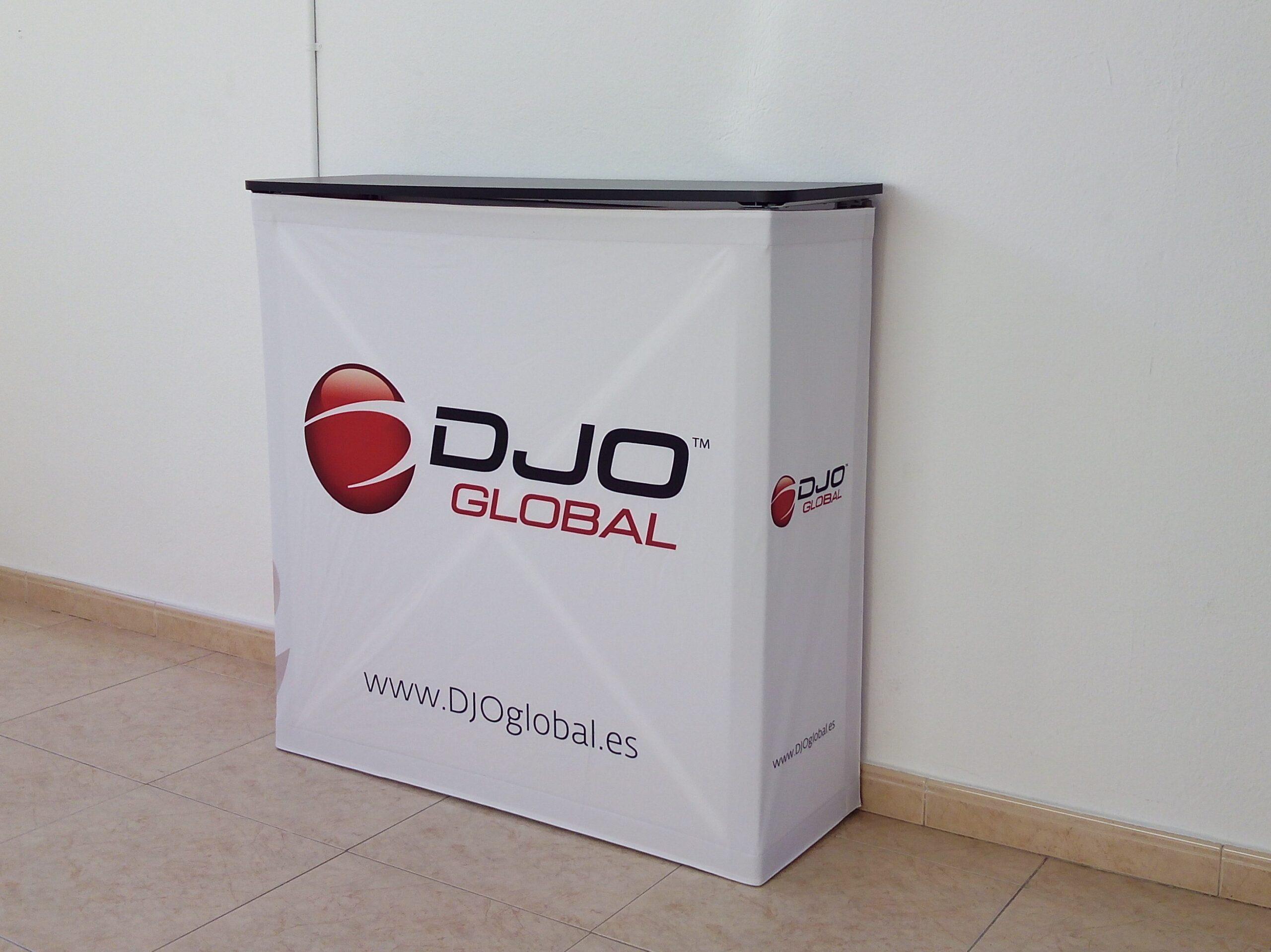 Mostrador Plegable Para DJO Global